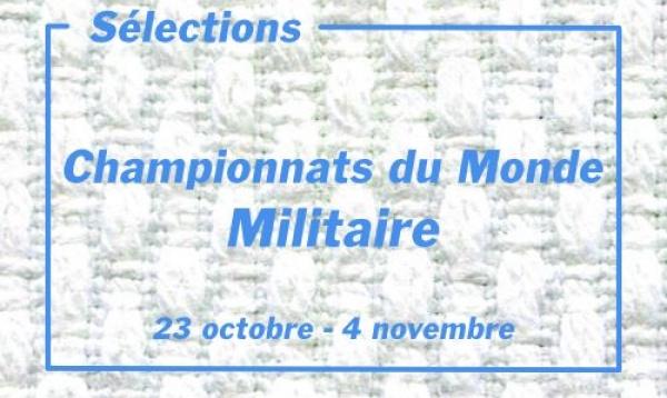 Sélection Championnats du Monde Militaire 2021