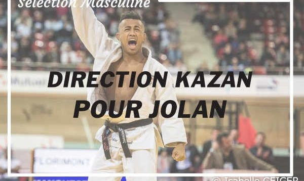 Jolan FLORIMONT au Grand Slam de Kazan !